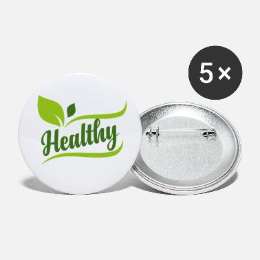 Healthy Healthy - Healthy - Small Buttons