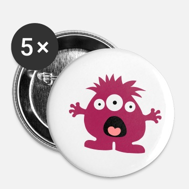 Monstre monstre - Badge petit 25 mm