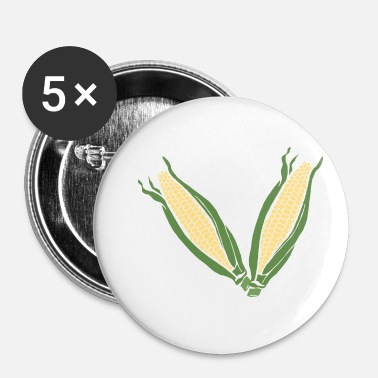 Cornes Corn! - Badge petit 25 mm