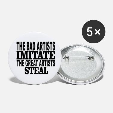 Steal great artists steal - Small Buttons