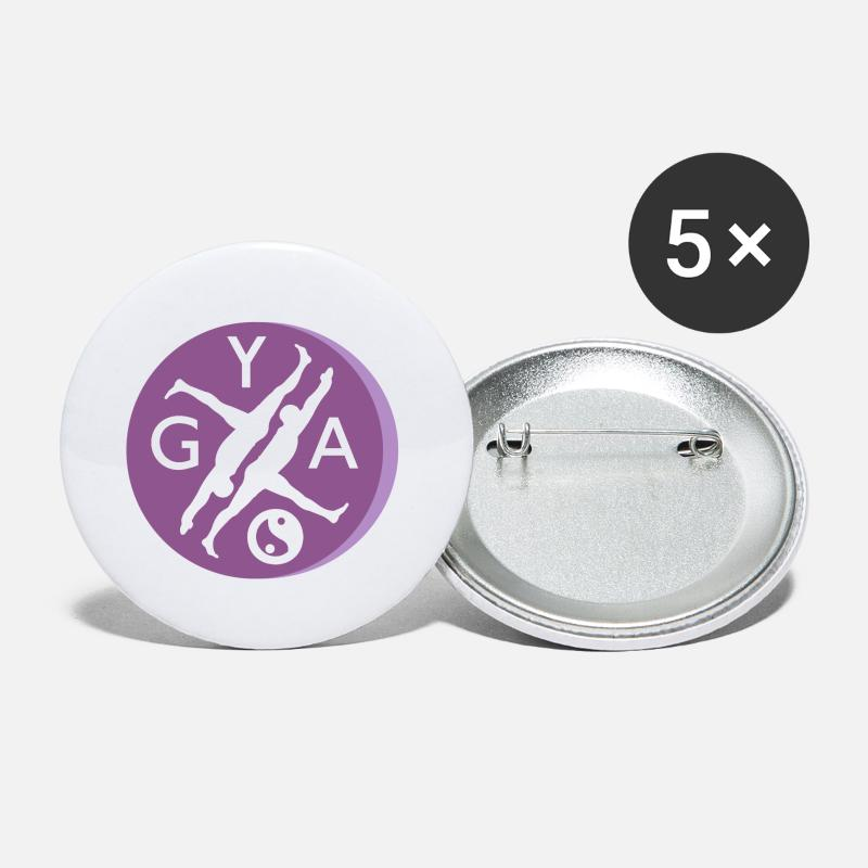 Yogi Buttons - YOGA - Small Buttons white