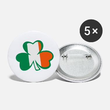 Best Awesome Superb Cool Amazing Identity Ethnicity Race People Language Country Design ♥ټ☘Rub the Irish Shamrock to Get Lucky☘ټ♥ - Small Buttons