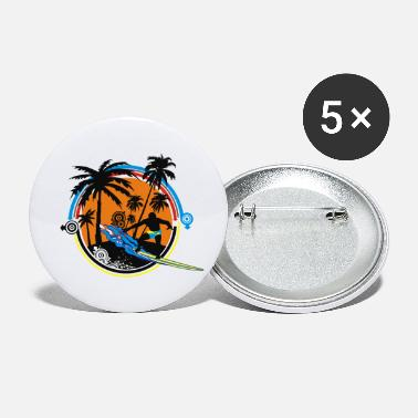 surfer - Small Buttons