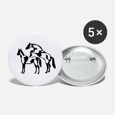 Reproduction horse reproduction - Small Buttons