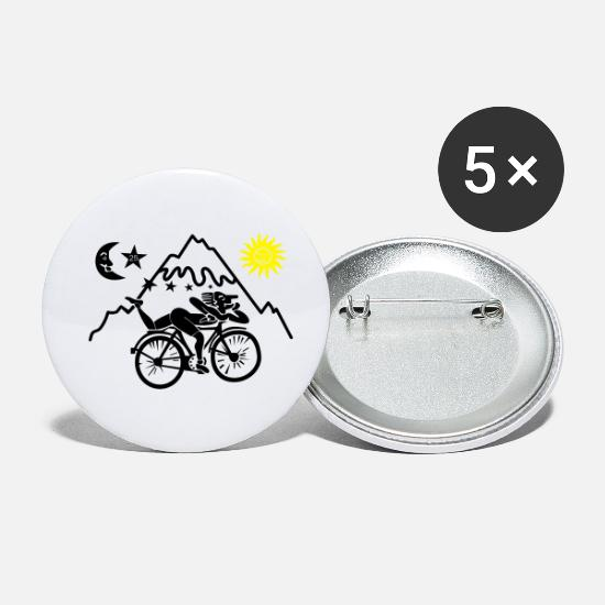 Psychedelic Buttons - Dr. Albert Hofmann - Small Buttons white