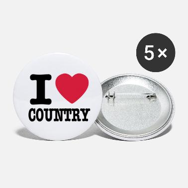 Country i love country / i heart country - Spille piccole