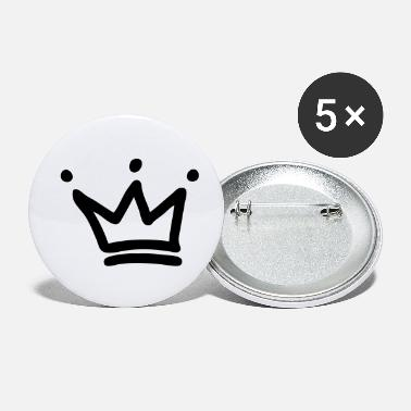 Crown crown crowns king - Small Buttons