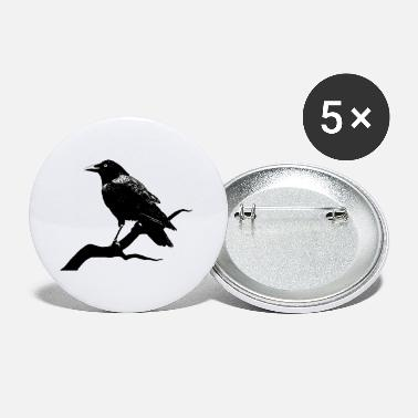 Crow Metal Crow - Buttons klein
