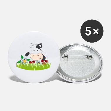 Satisfied cow Ordelia - Small Buttons