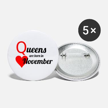 November November Queen - Small Buttons