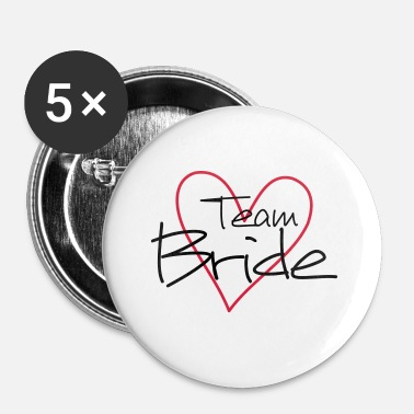 Team Bride Team Bride Team Bride's Heart JGA - Spilla piccola 25 mm