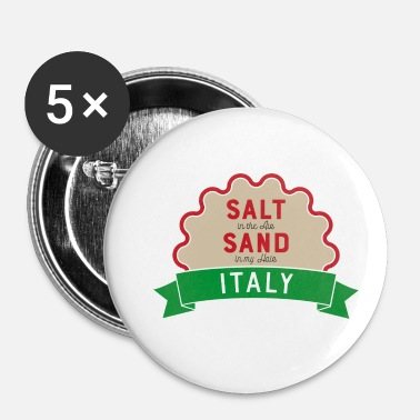 Italië Italië - Buttons klein 25 mm (5-pack)