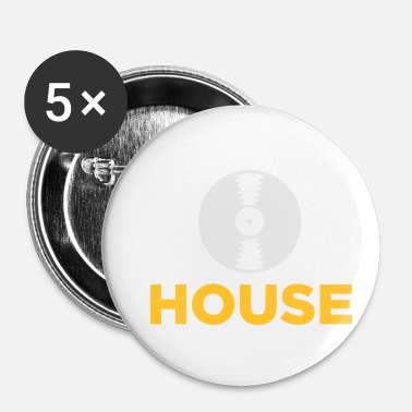 House House musik! - Buttons/Badges lille, 25 mm