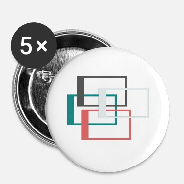 Ramme ramme - Buttons/Badges lille, 25 mm