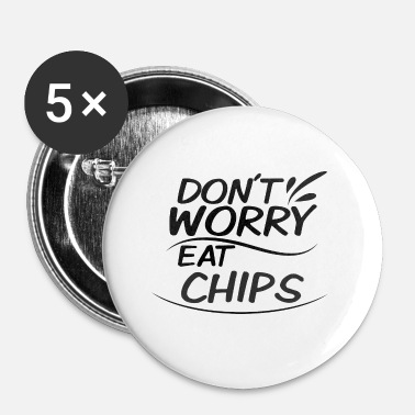 Chip chips - Buttons klein 25 mm