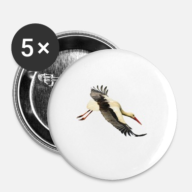 Lapsi stork - Buttons/Badges lille, 25 mm