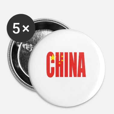 Chine Chine - Badge petit 25 mm
