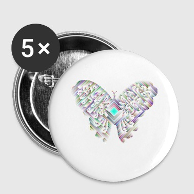papillon - Badge petit 25 mm