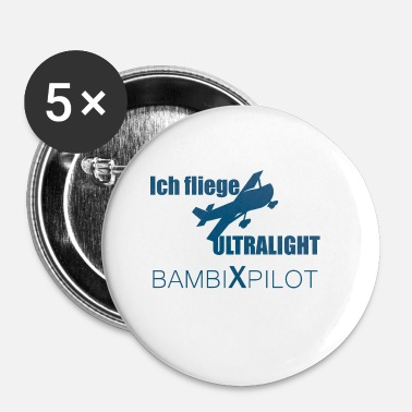 Collections ICH FLIEGE UL COLLECTION - Buttons klein 25 mm (5er Pack)