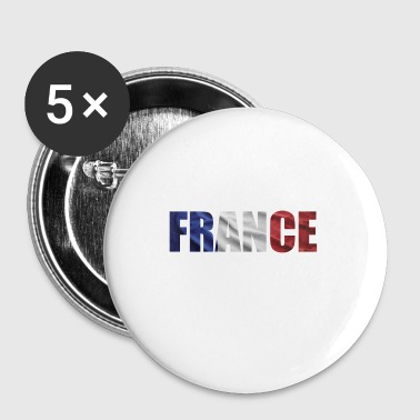 DRAPEAU FRANCAIS DE LA FRANCE - Badge petit 25 mm