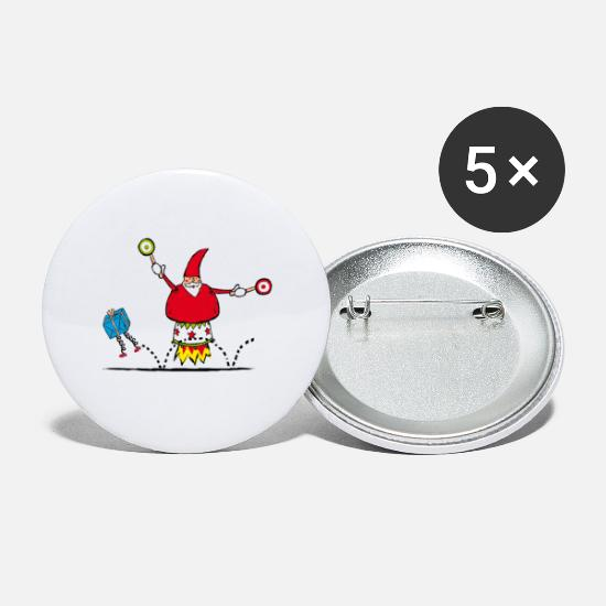 Christmas Buttons - Christmas - Small Buttons white
