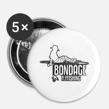 Bondage BONDAGE FLYFISHING - Badge petit 25 mm