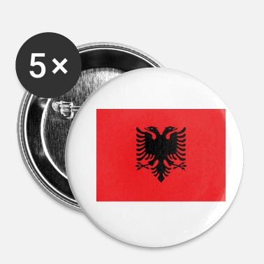 Bandera Flag of Albania - Badge petit 25 mm