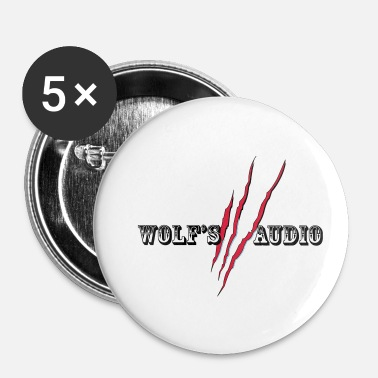 Audio l audio de loup - Badge petit 25 mm