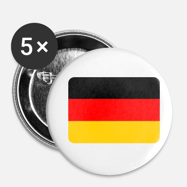 National Drapeau de l'Allemagne, drapeau de l'Allemagne, national - Badge petit 25 mm