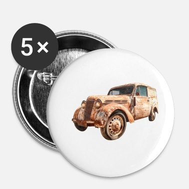 Transport Oldtimer Transporter - Badge petit 25 mm