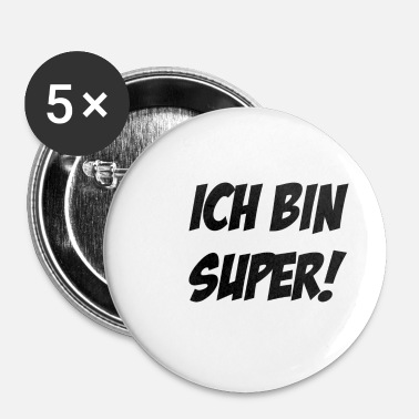 Super Jeg er super - Buttons/Badges lille, 25 mm