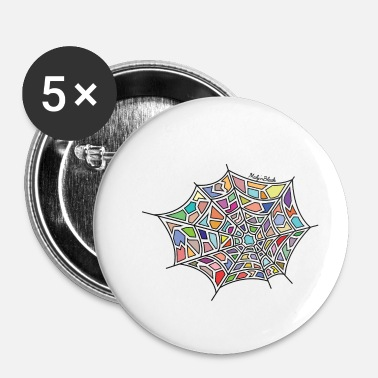 Web Spider web - Buttons/Badges lille, 25 mm