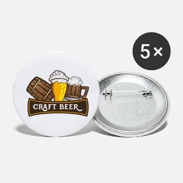 Craft Beer Craft Beer Crafted Beer - Small Buttons