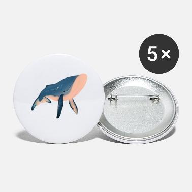 Illustration Whale illustration - Small Buttons