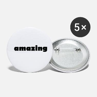 Amazing Amazing - Small Buttons