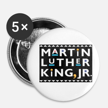 Martin Luther King Martin Luther King JR Graphic - Badge petit 25 mm