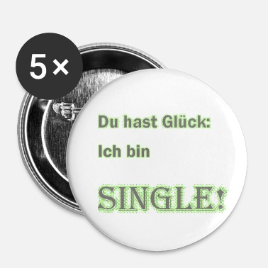 single - Buttons klein 25 mm
