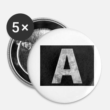 Alphabet alphabet - Badge petit 25 mm
