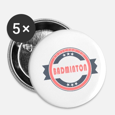 Badminton badminton - Badge petit 25 mm