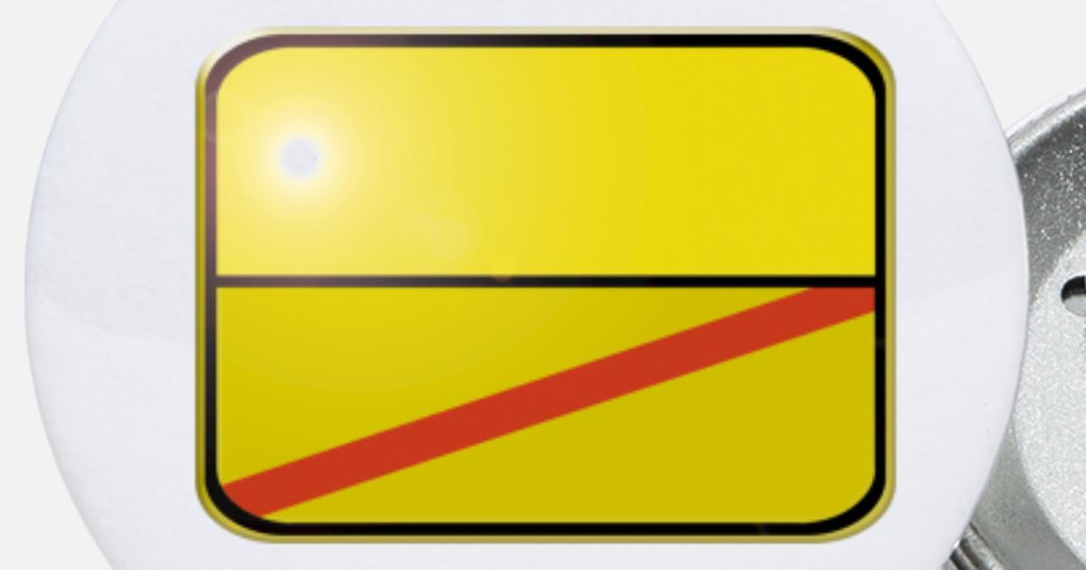 ELSDORF Design Farbe JOllify Aufkleber Ortsschild