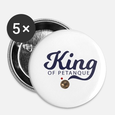 Petanque KING OF PETANQUE - Buttons small 25 mm