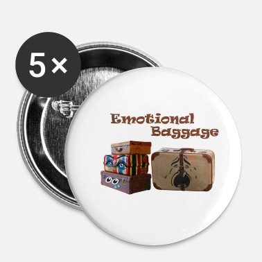 Emotion Bagage émotionnel - Badge petit 25 mm