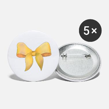 Yellow Big yellow carnival bow - Small Buttons