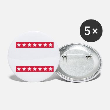 Strip Stars Stripes - Buttons klein