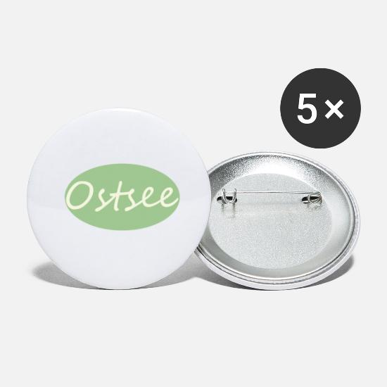 Gift Idea Buttons - Baltic Sea green - Small Buttons white