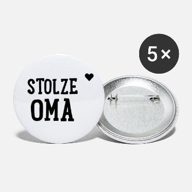 Wiegenfest Stolze Oma - Buttons klein