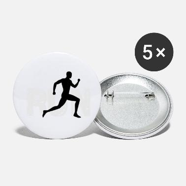 Running Run running - Small Buttons