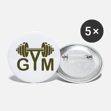 Gym GYM - Small Buttons