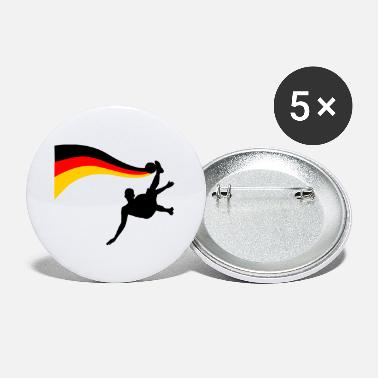 Germania Fallbacker Soccer Germany Shirt - Small Buttons