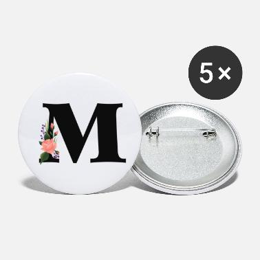 Alphabet M - Petits badges